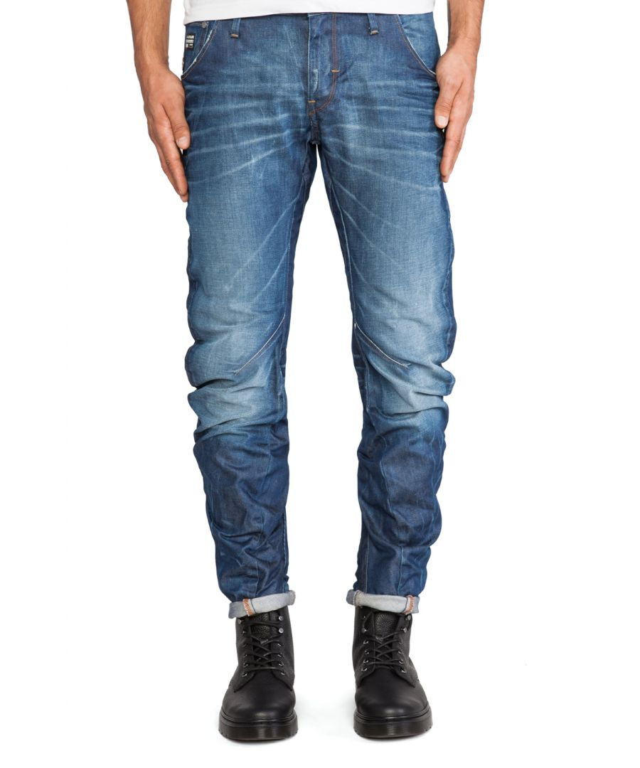 Image for G-Star Arc 3D Slim Medium Aged Hydrite Denim Jeans