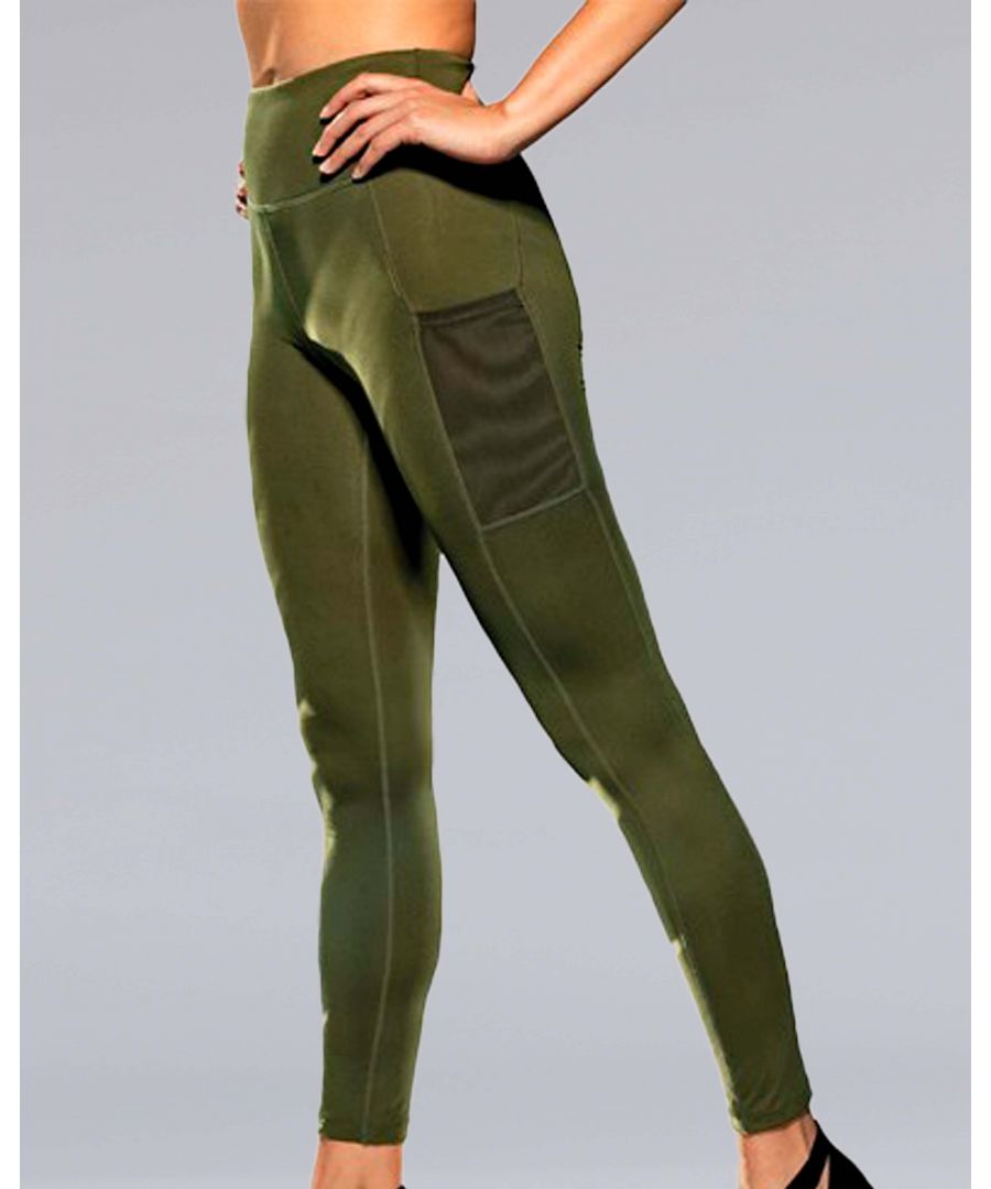 Image for Compression Leggings in Olive
