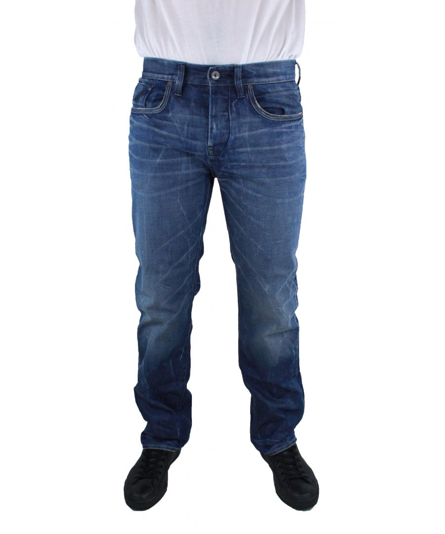 Image for G-Star Defend Loose Medium Aged  Hydrite Denim Jeans