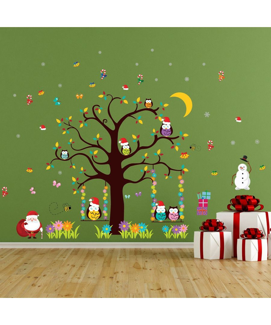 Image for WFXC12215 - WS3324 + WFX9302 - Waiting for Santa Wall Stickers