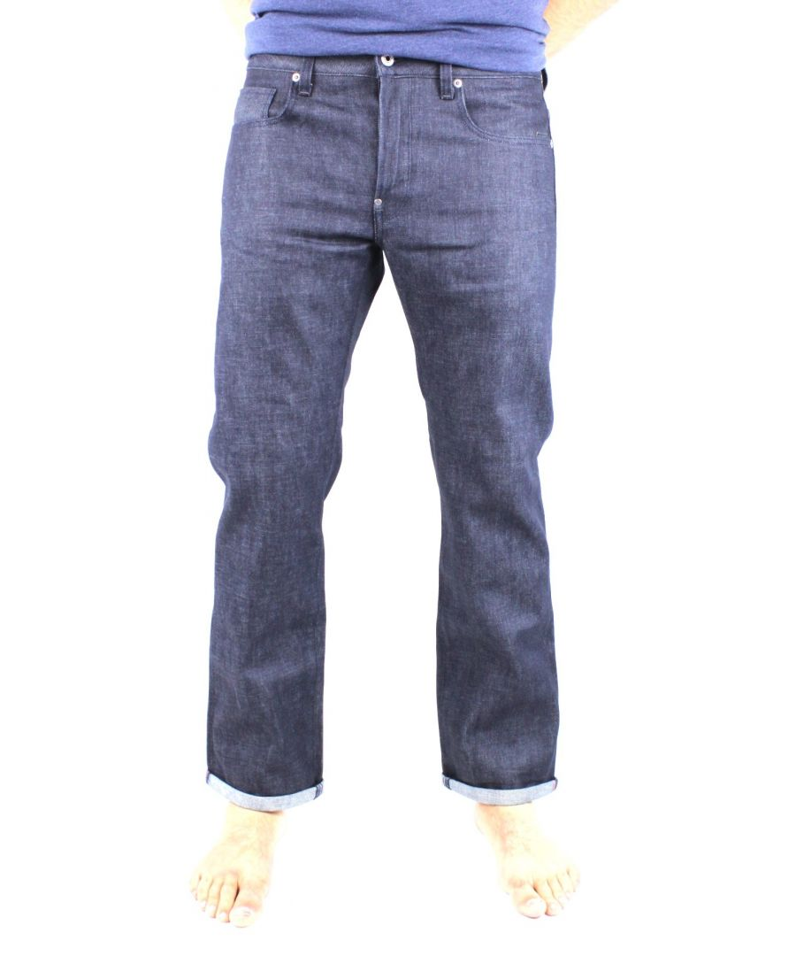 Image for G-Star Attacc Straight Rigid Raw Selvedge Denim Jeans