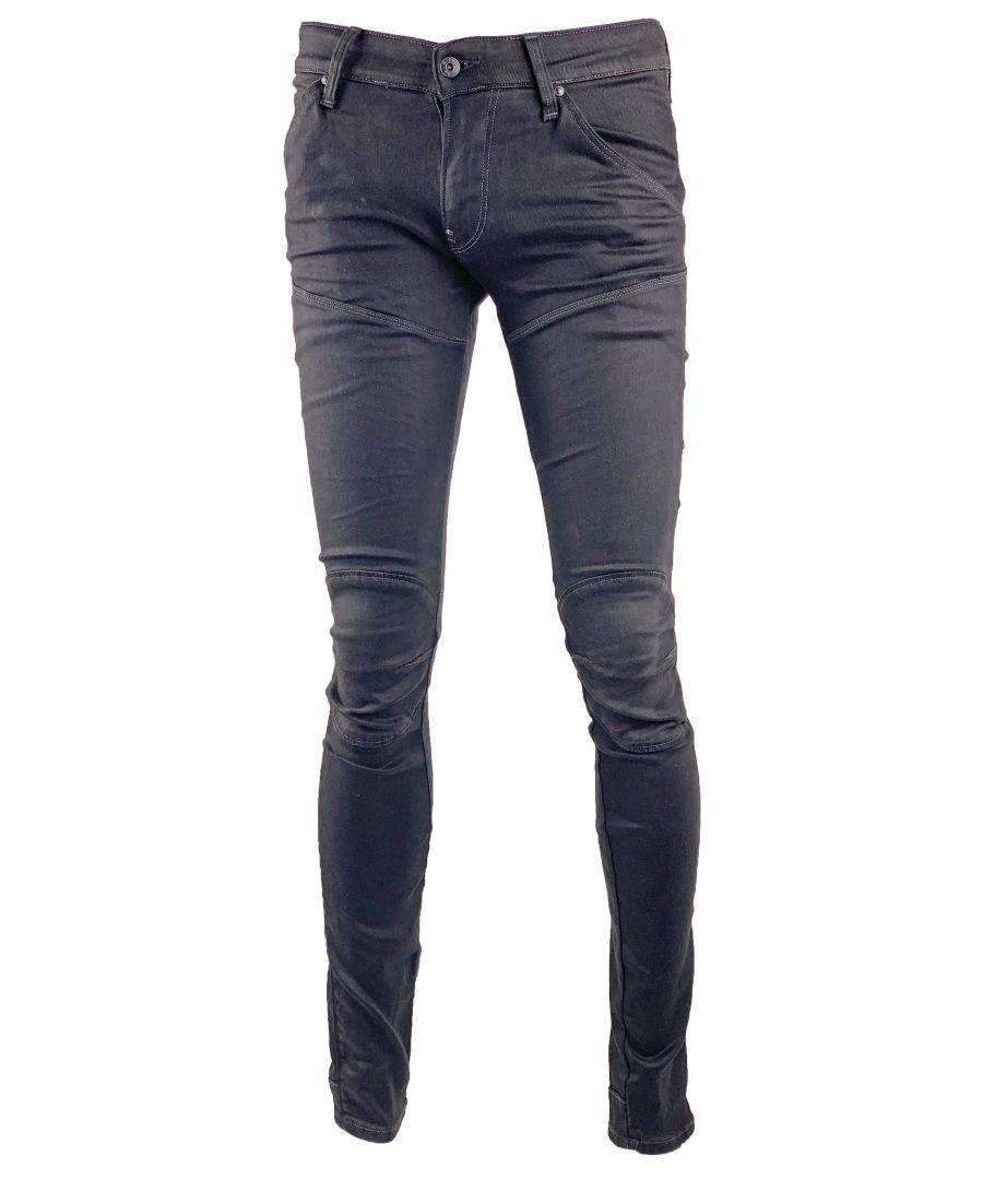 Image for G-Star Elwood 5620 3D Super Slim Dk Aged Denim Jeans