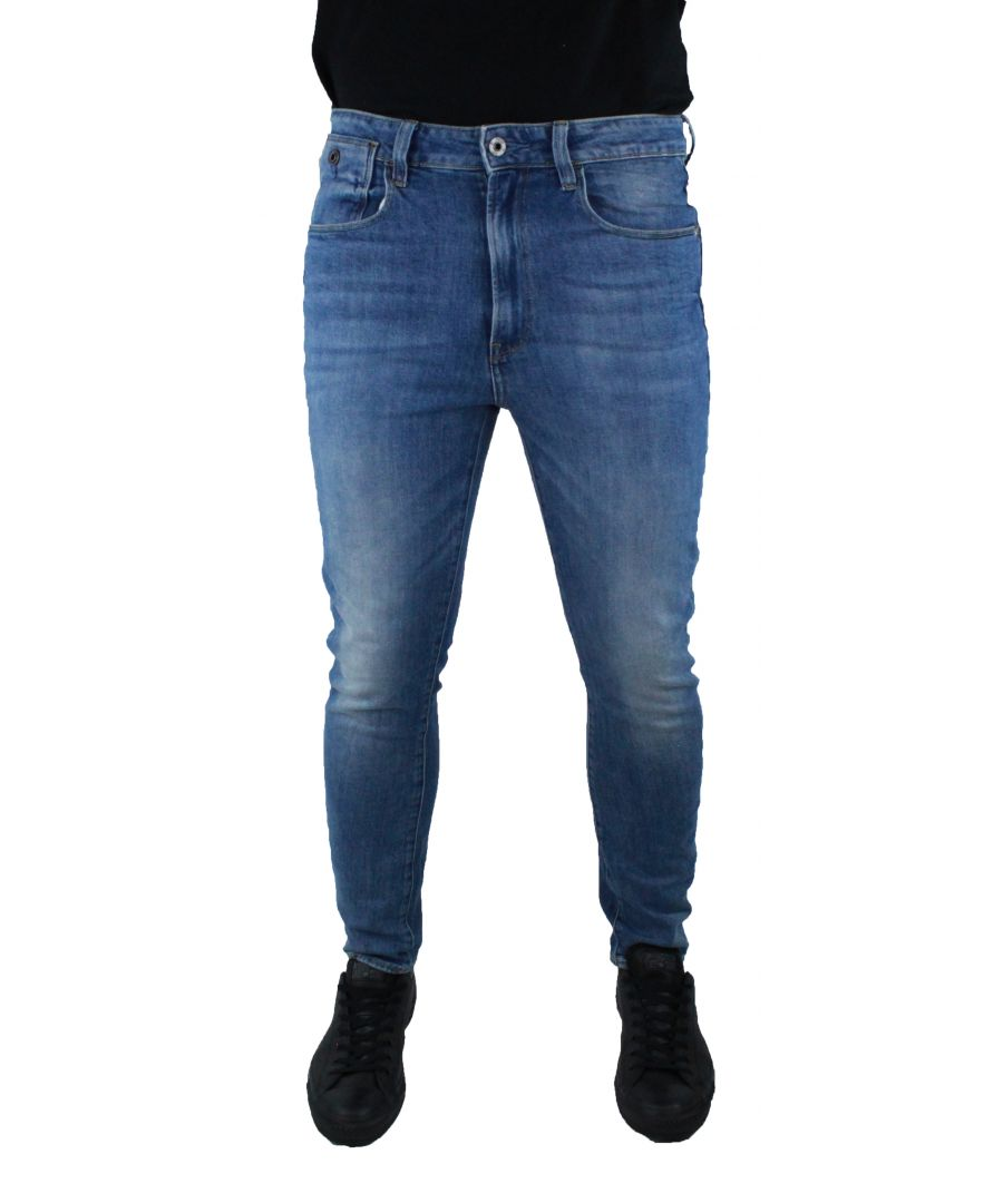 Image for G-Star Type C Light Aged Wash Humber Stretch Denim Jeans