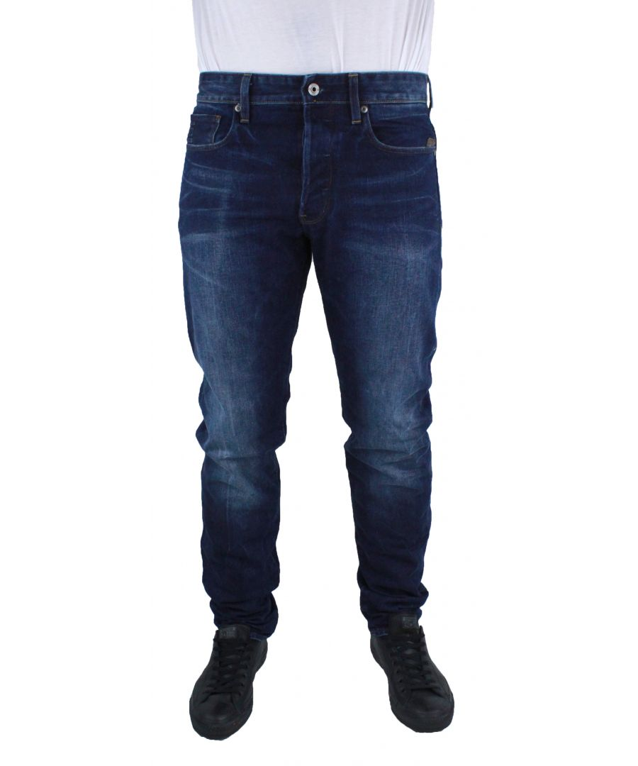 Image for G-Star Stean Tapered DK Aged Wisk Denim Jeans