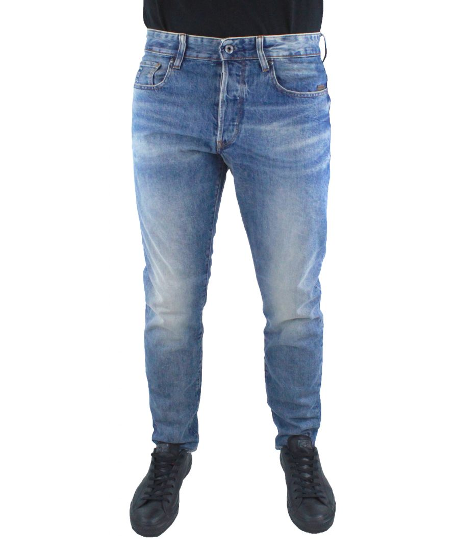 Image for G-Star Stean Tapered Light Aged Rend Denim Jeans