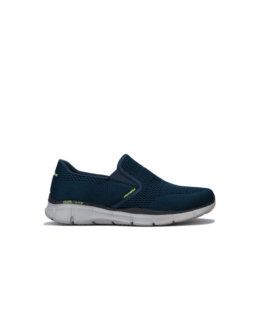 Image for Men's Skechers Equaliser Double Play Slip On Trainers In Navy