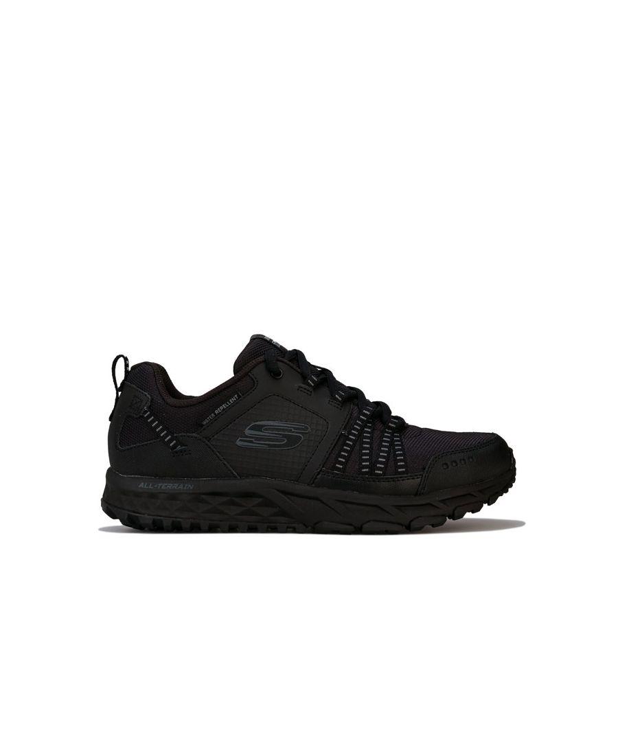 Image for Men's Skechers Escape Plan Walking Shoe Trainers In Black