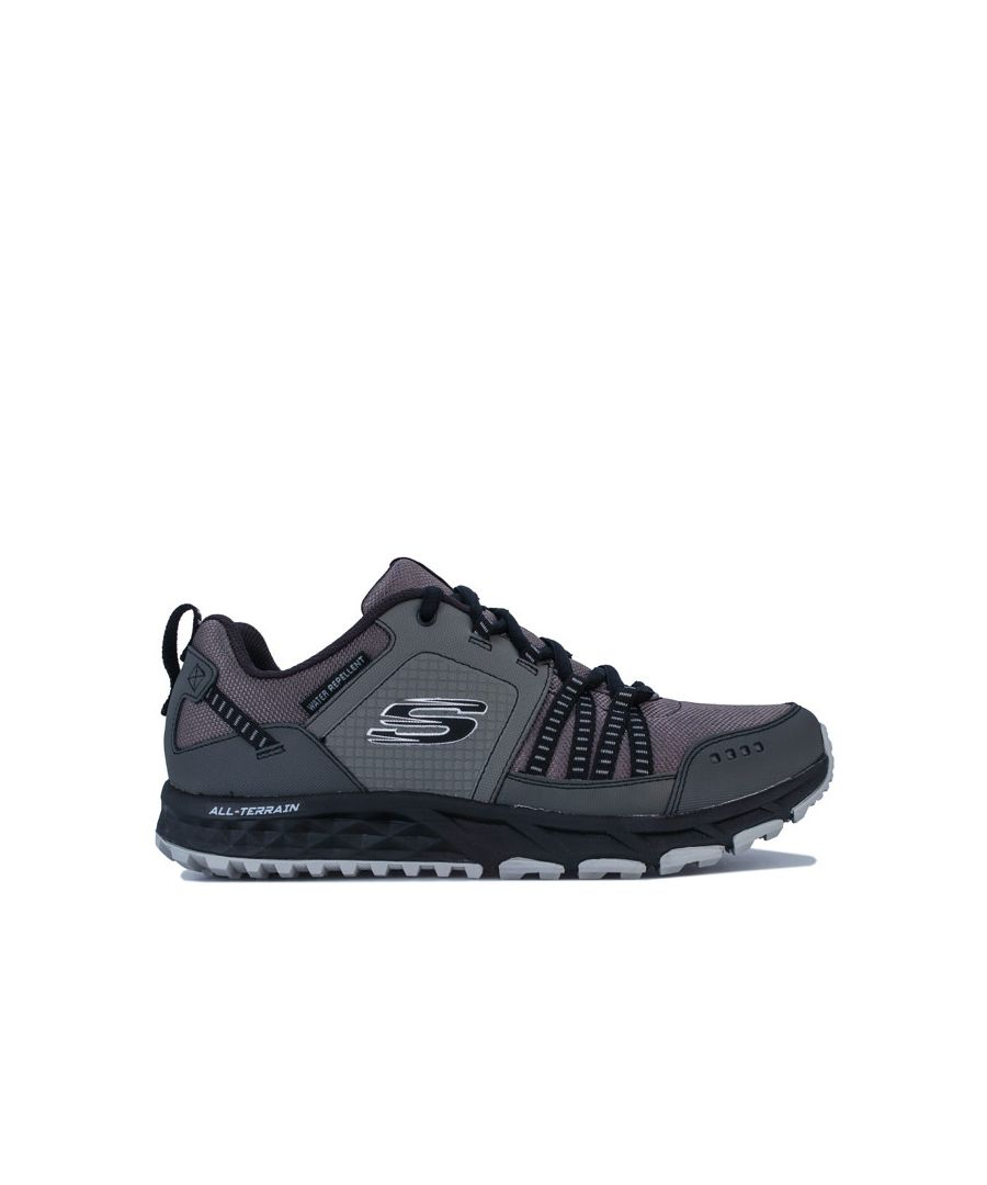 Image for Men's Skechers Escape Plan Walking Trainers In Charcoal