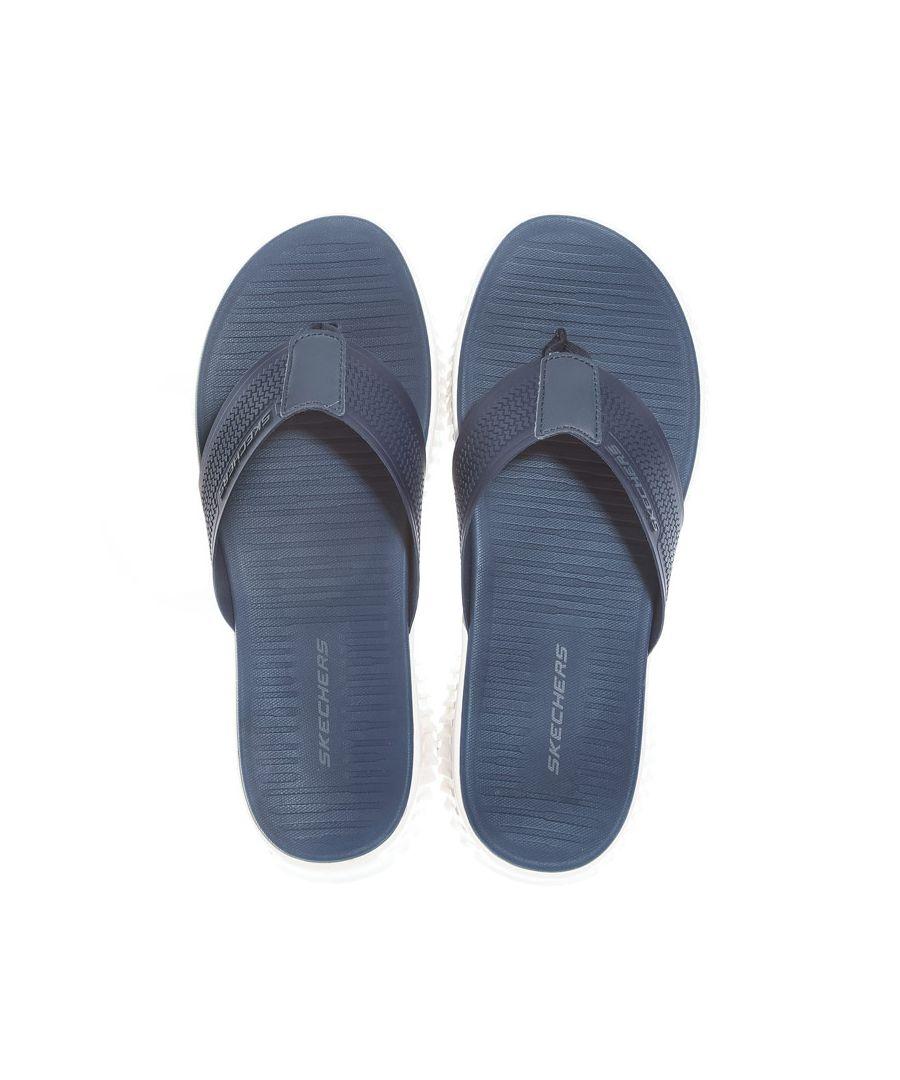 Image for Men's Skechers Elite Flex Thong Sandal in Navy