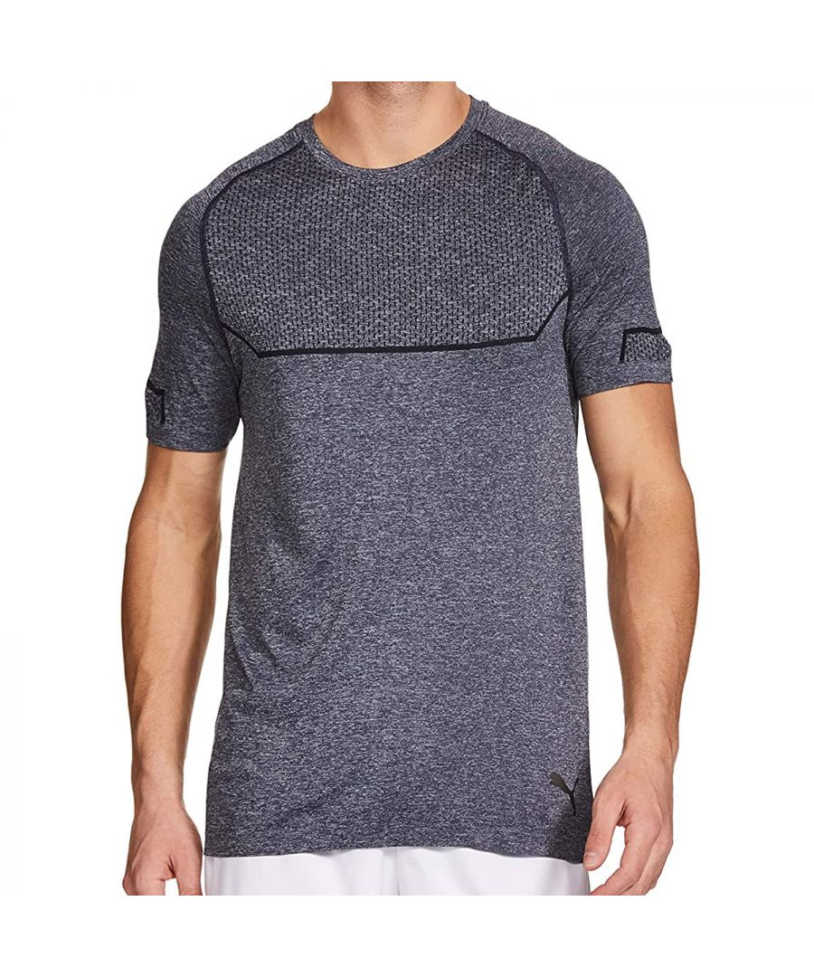 Image for Puma Energy Mens Seamless T-Shirt Blue - M