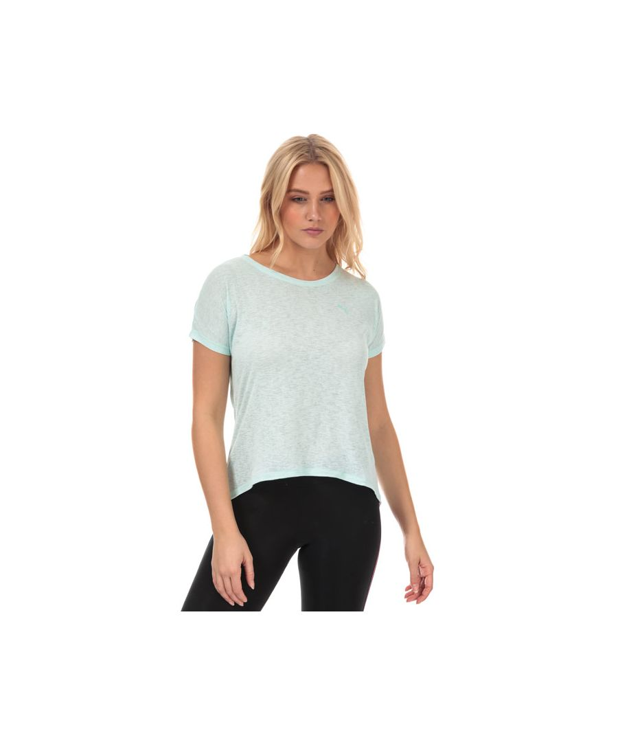 Image for Women's Puma Bold T-Shirt in aqua