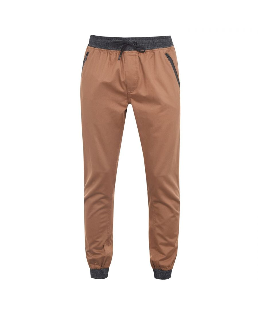 Image for No Fear Mens Ribbed Waist Chinos Casual Trousers Bottoms Pants Lightweight