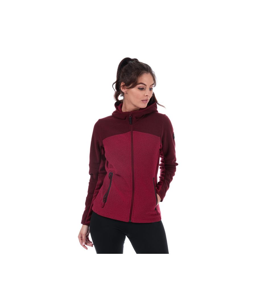 Image for Women's Helly Hansen Vanir Fleece Jacket in Red