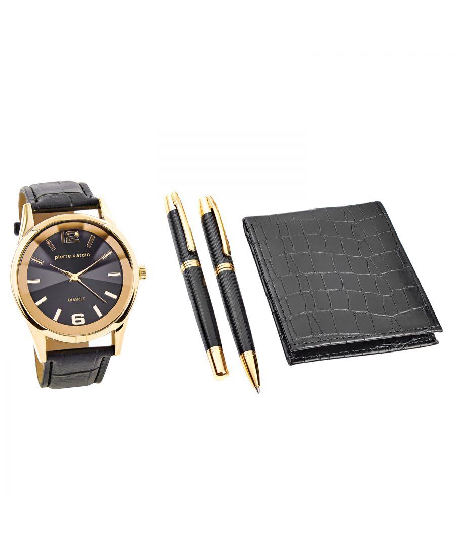 Image for Pierre Cardin Gift Set Watch & Wallet & Pen PCX7870EMI