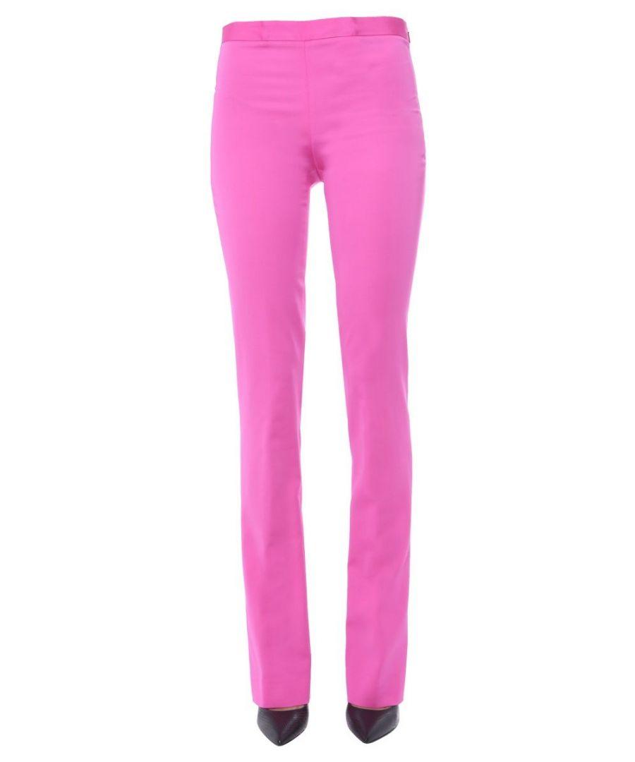 Image for VERSACE WOMEN'S A85357A220957A1708 FUCHSIA VISCOSE PANTS