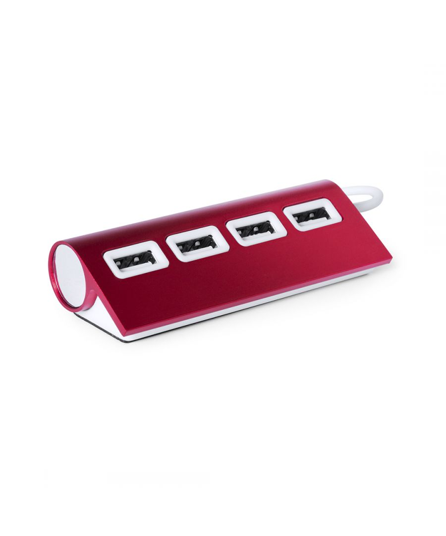 Image for HUB USB Red