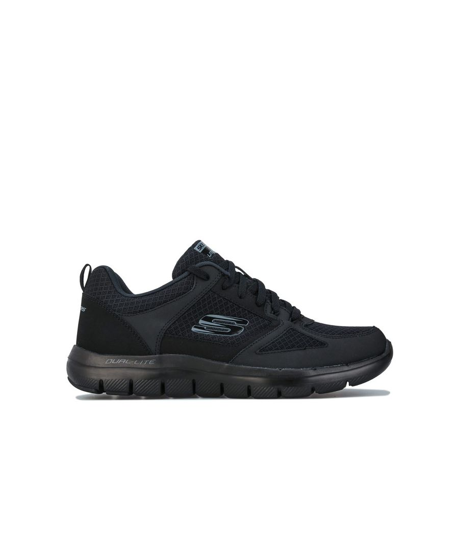 Image for Men's Skechers Flex Advantage 2.0 Lindman Trainers in Black