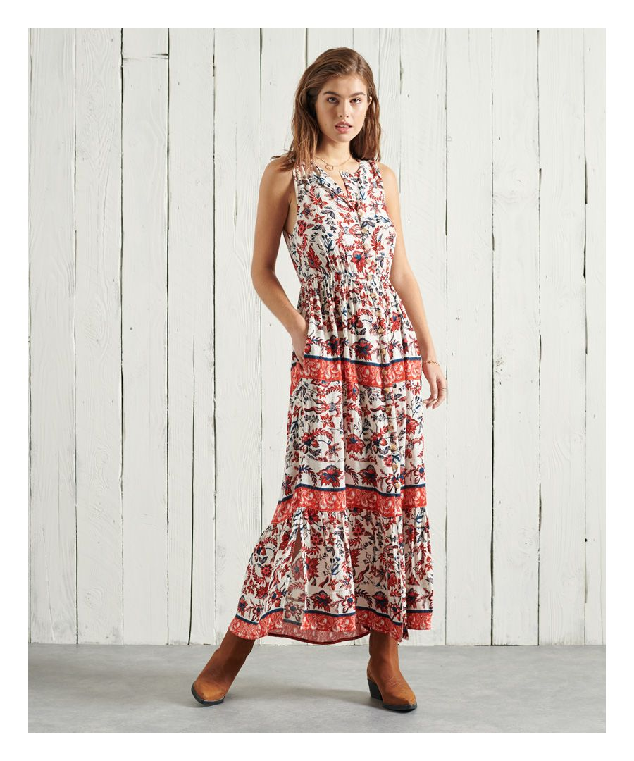Image for Superdry Luci Maxi Dress