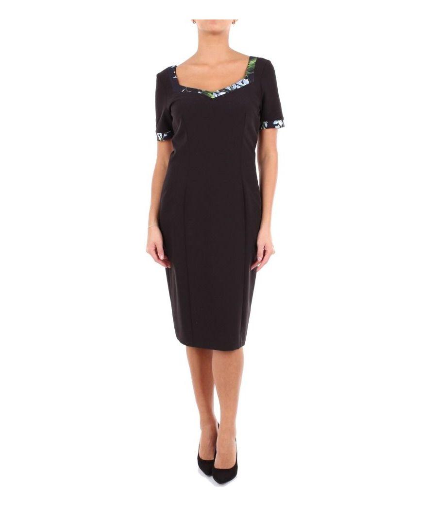 Image for BLUMARINE WOMEN'S 4340BLACK BLACK POLYESTER DRESS