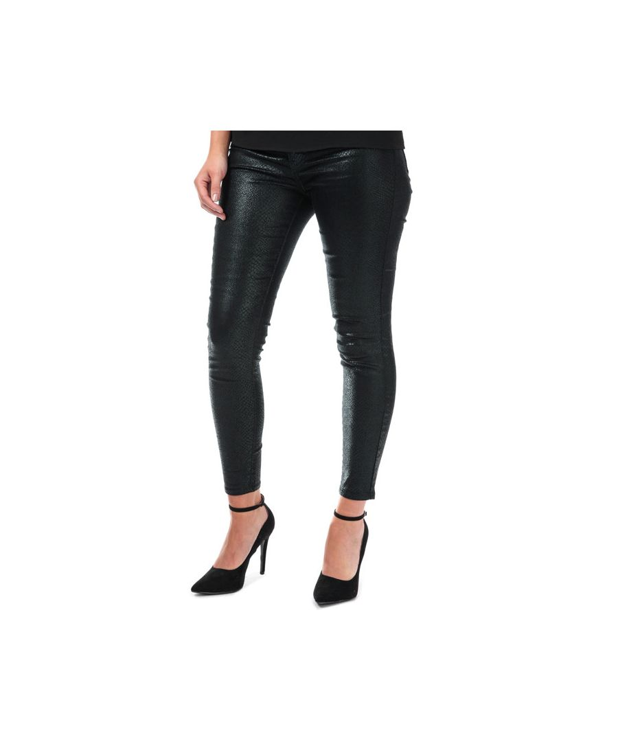 Image for Women's Levis Mile High Ankle Skinny Jeans in Black