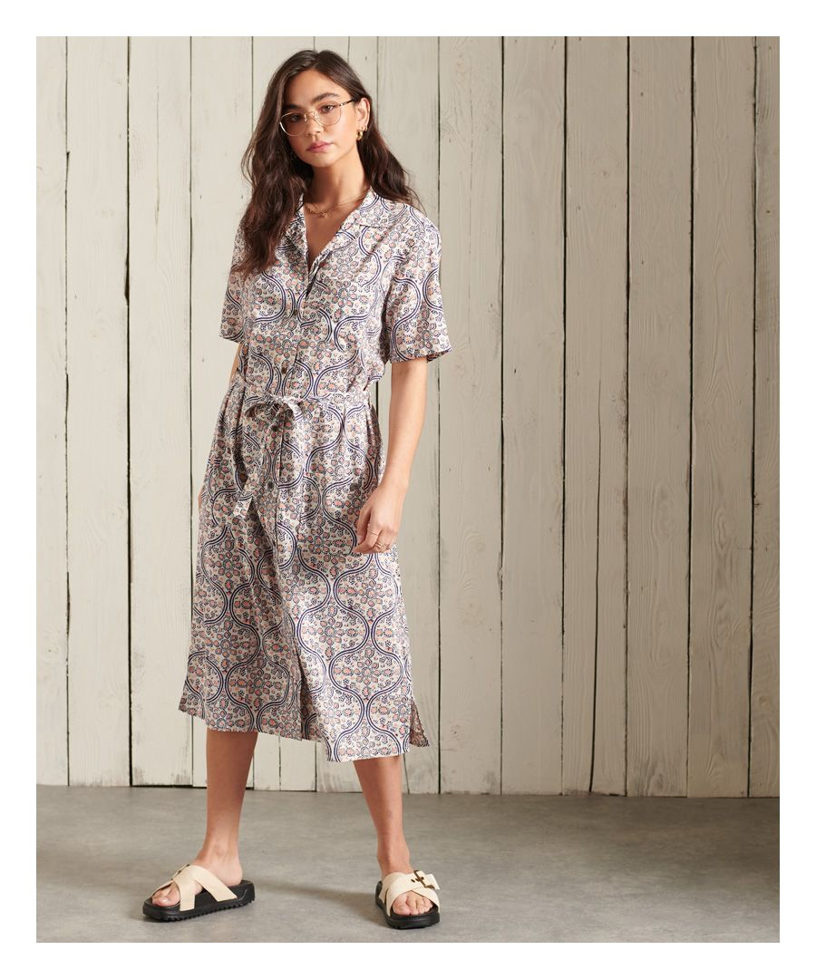 Image for Superdry Printed Shirtdress