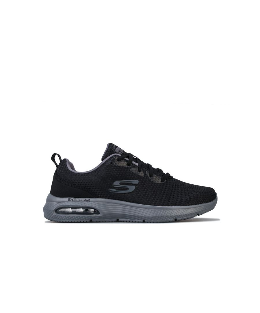 Image for Men's Skechers Dyna-Air Trainers in Black