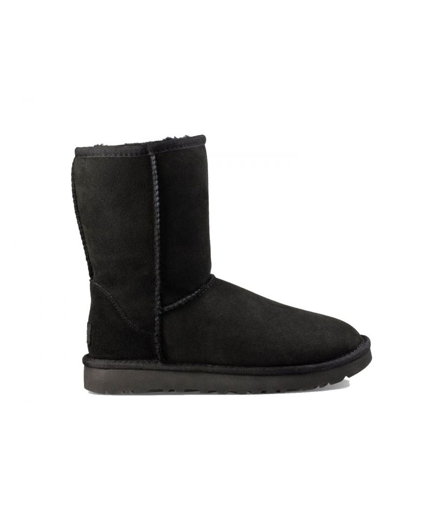 Image for UGG WOMEN'S 1016223WBLACK BLACK SUEDE ANKLE BOOTS
