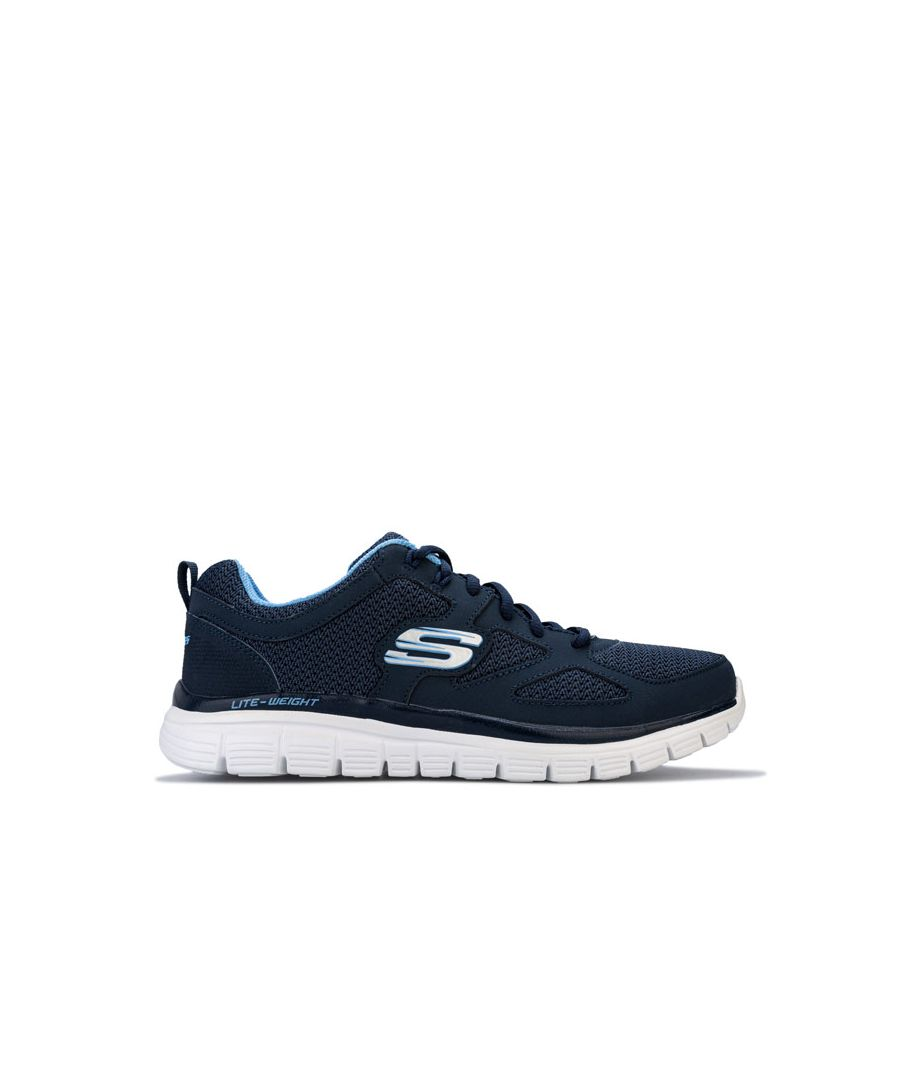 Image for Men's Skechers Burns Agoura Trainers in Navy