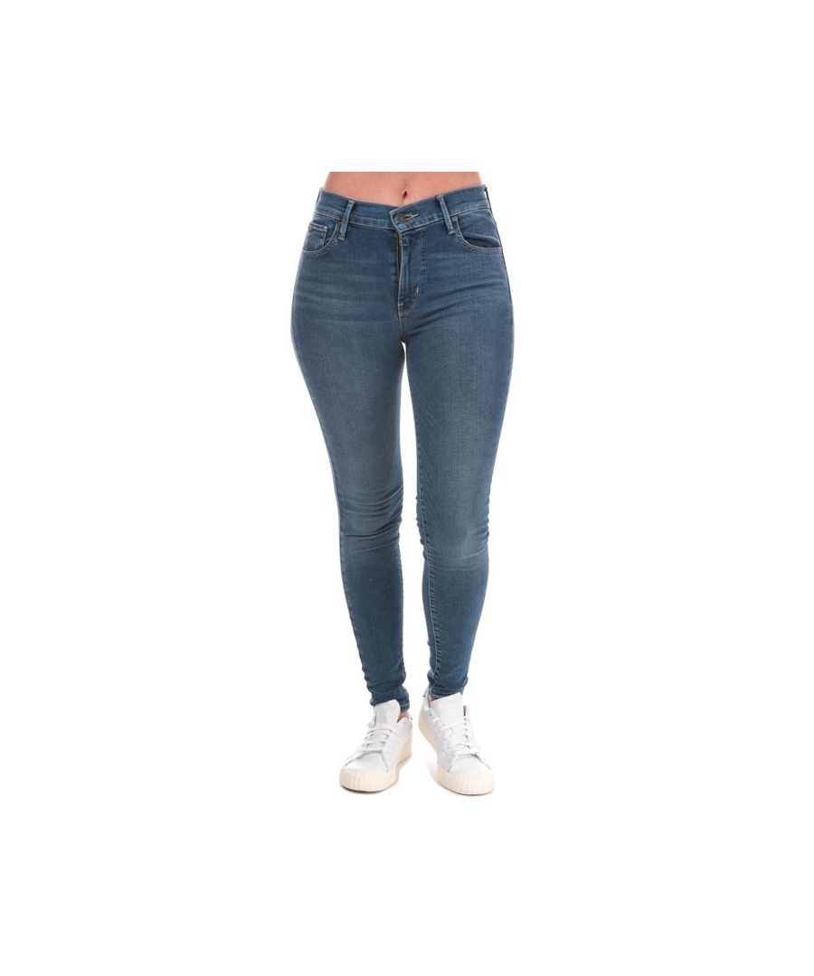 Image for Women's Levis 720 High Rise Super Skinny Jeans in Denim