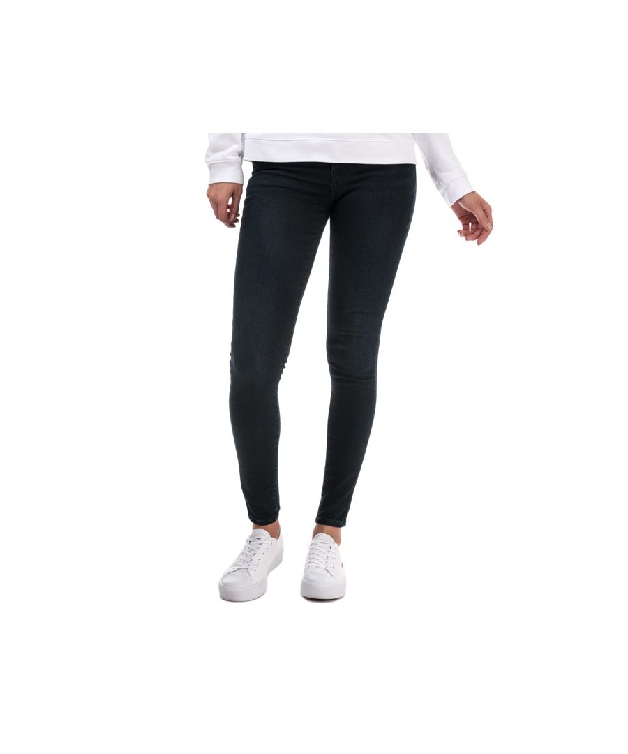 Image for Women's Levis 720 High Rise Super Skinny Jeans in Black