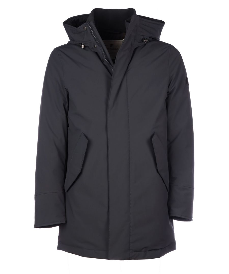 Image for WOOLRICH MEN'S WOCPS2884UT01023989 BLUE POLYAMIDE OUTERWEAR JACKET