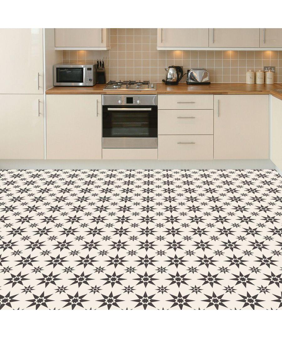 Image for WFS6022 - Alabaster and Pebble Granada Heritage Tiles Floor Stickers 120cm x 60 cm