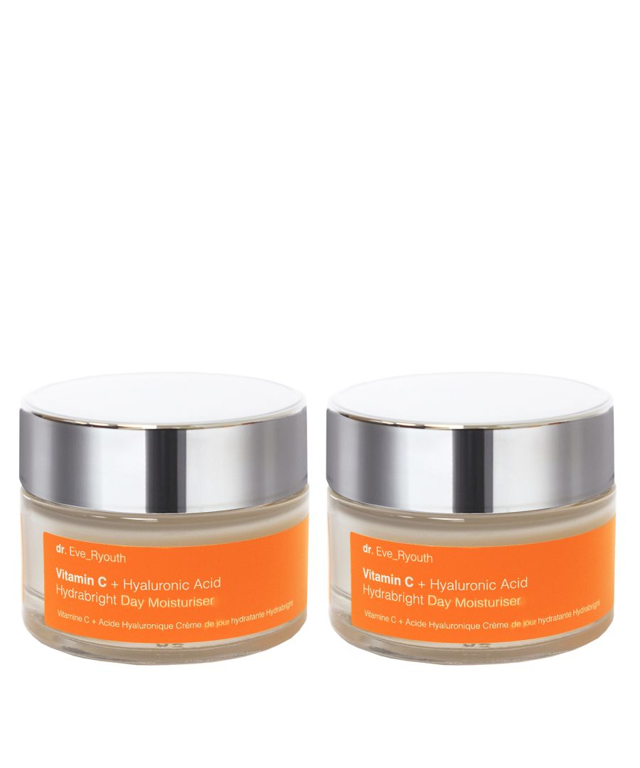 Image for 2 x Vitamin C + Hyaluronic Acid Hydrabright Day Moisturiser 50ml