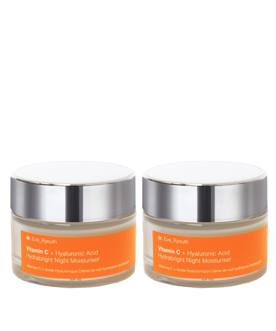 Image for 2x Vitamin C + Hyaluronic Acid Hydrabright Night Moisturiser 50ml