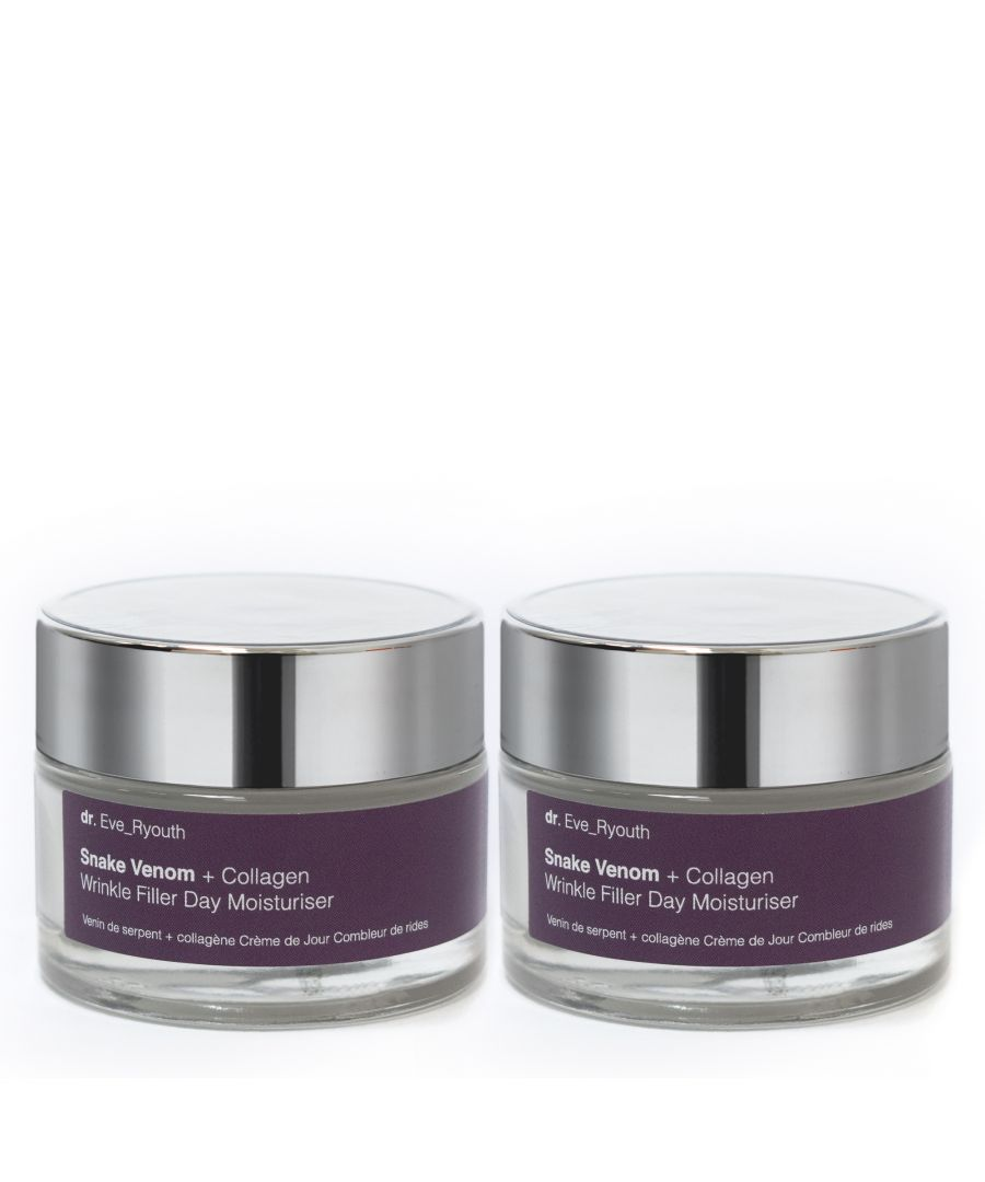 Image for 2 x Snake Venom + Collagen Wrinkle Filler Day Moisturiser 50ml