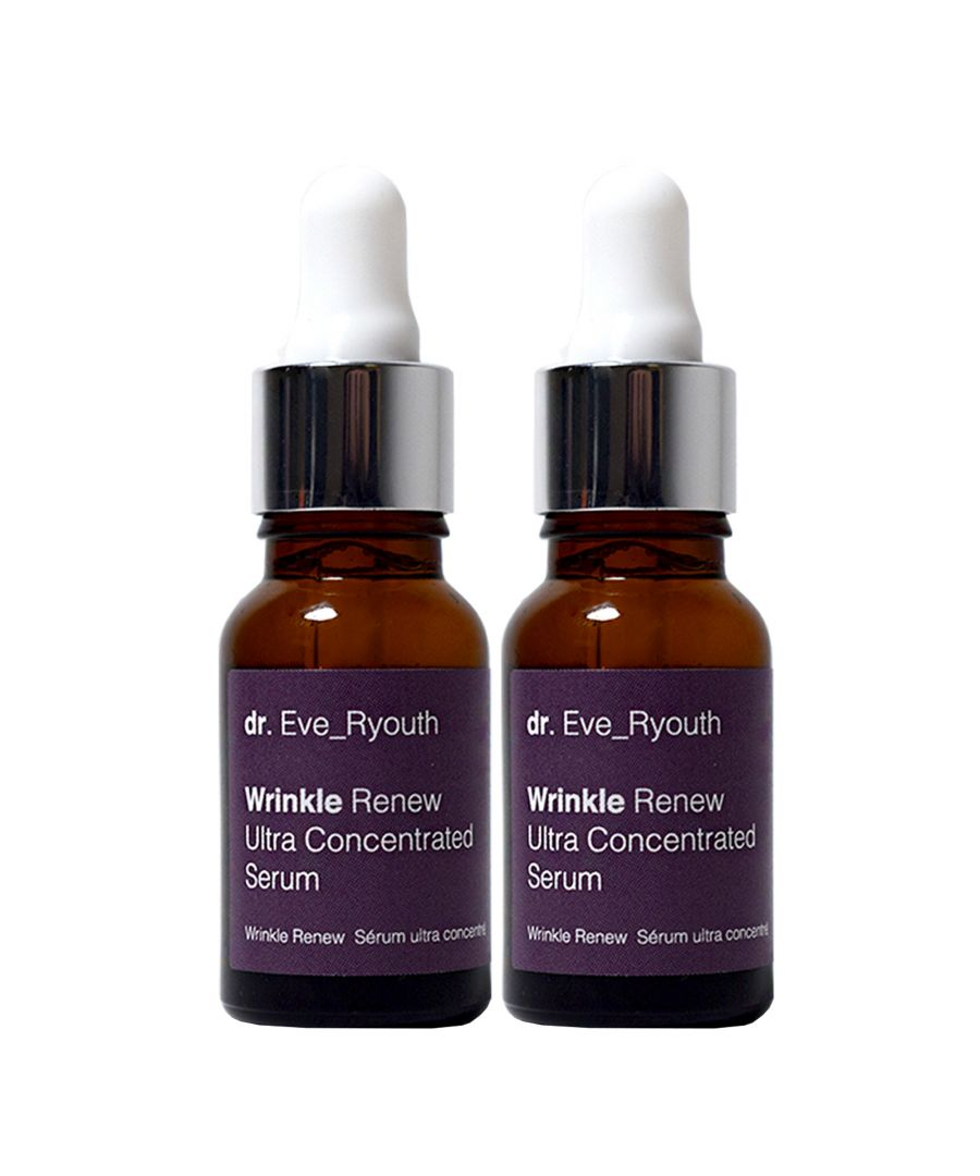 Image for 2 x Wrinkle Renew Ultra Concentrated Serum 15ml