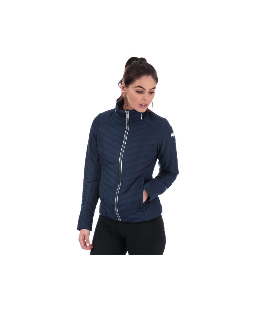 Image for Women's Helly Hansen Crew Insulator Jacket in Midnight