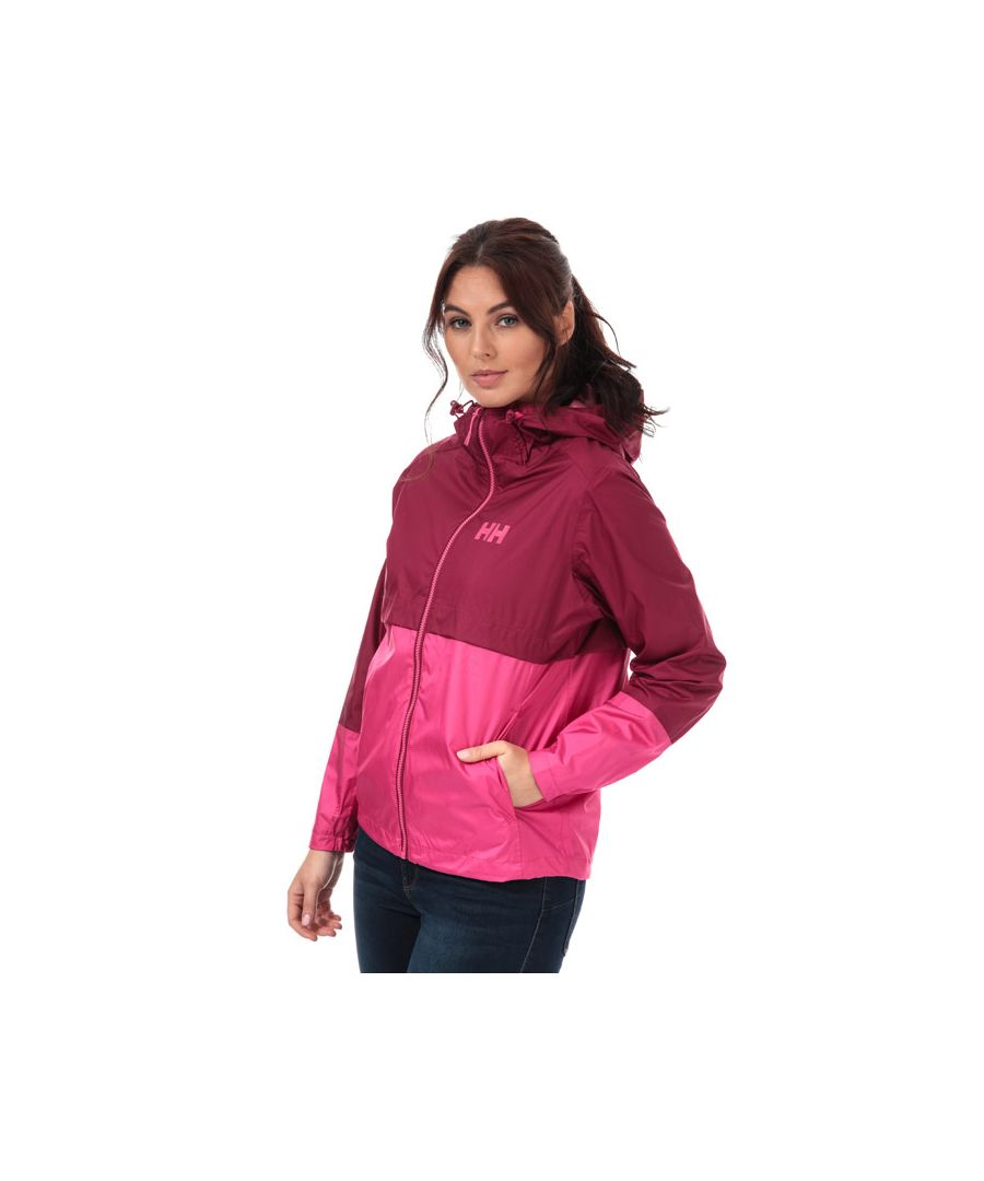 Image for Women's Helly Hansen Aran Shell Jacket in Plum