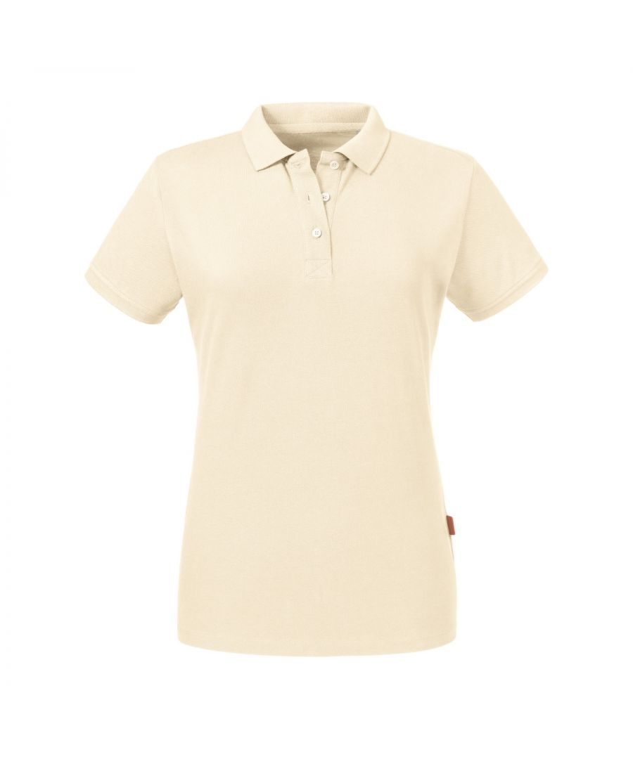 Image for Russell Women's Pure Organic Polo (Natural)