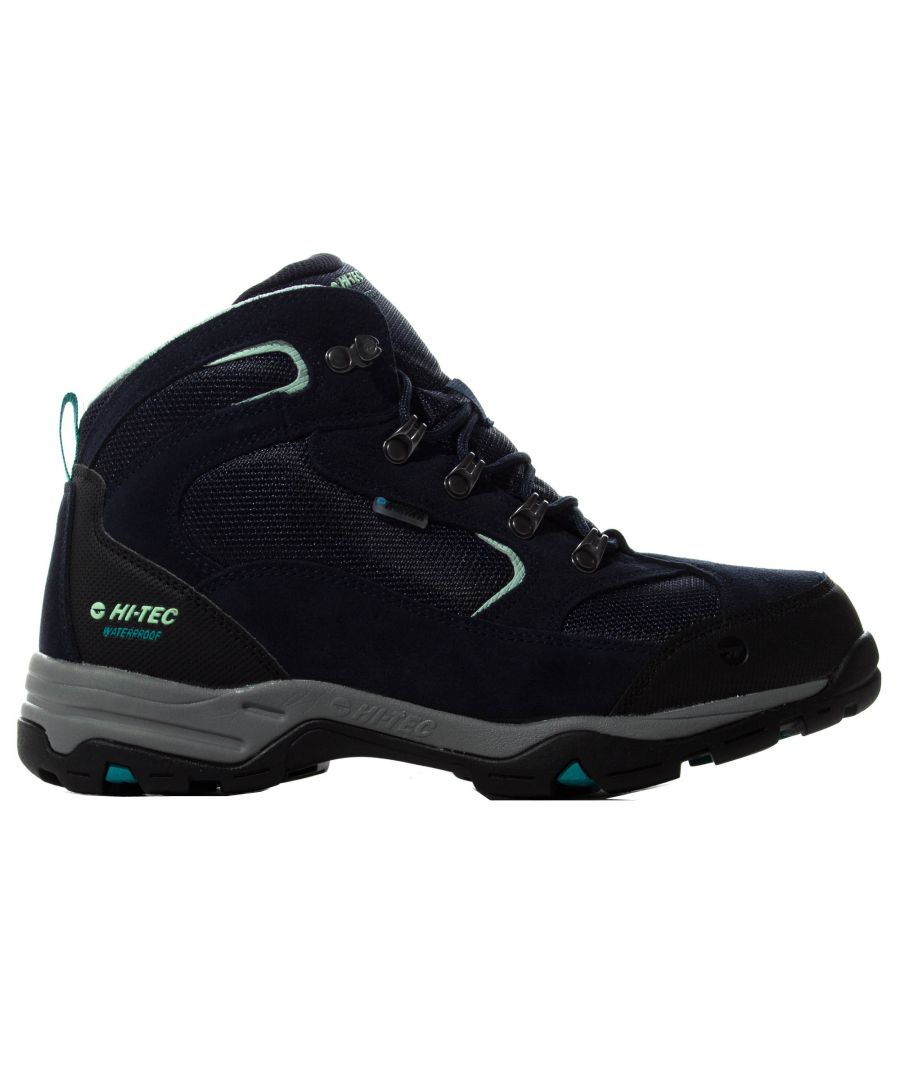 Image for Hi-Tec Storm Womens Hiking Boot Navy Blue/Black - UK 6