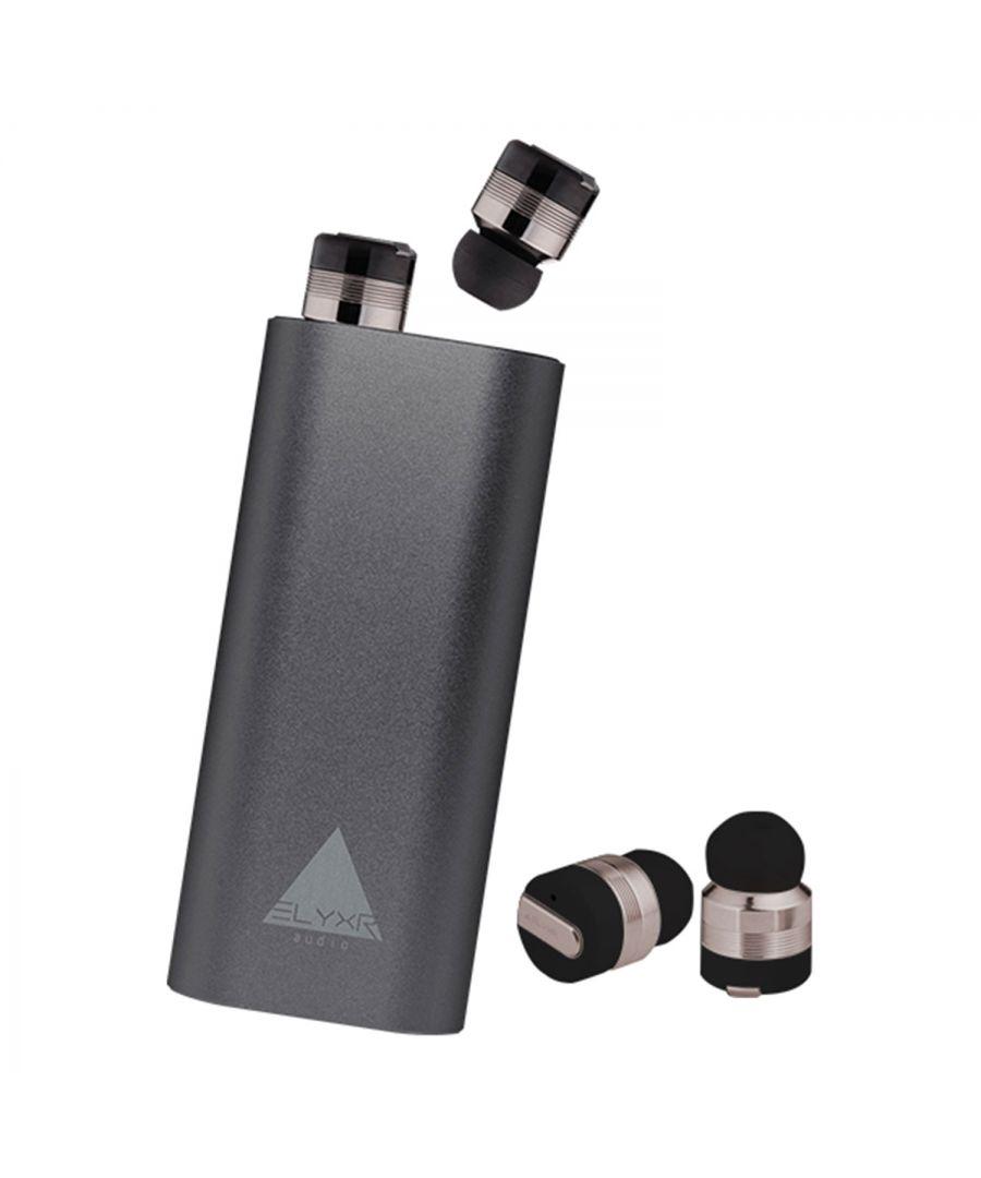 Image for Elyxr Audio Air True Wireless Earbuds Gunmet