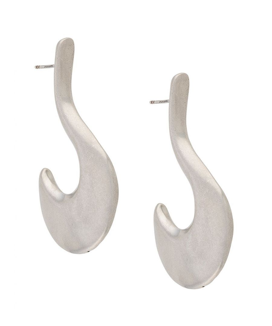Image for MARNI WOMEN'S ORMV0138A0M200000N29 SILVER METAL EARRINGS