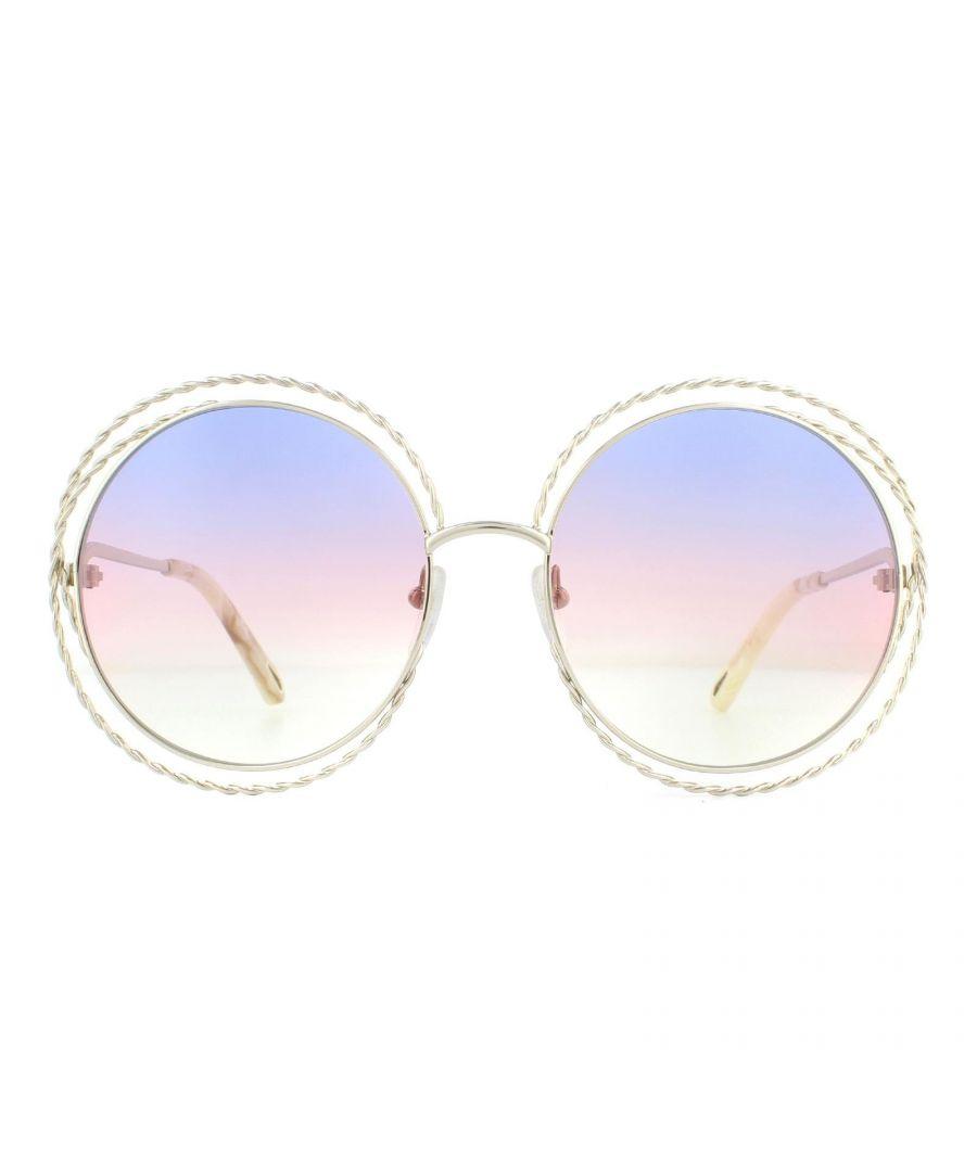 Image for Chloe Sunglasses CE114ST 779 Gold Rainbow