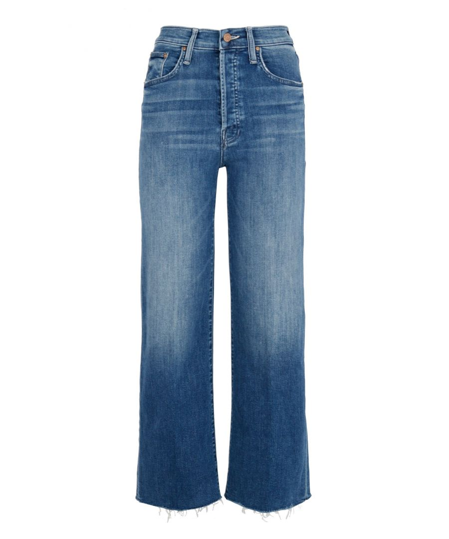 Image for MOTHER WOMEN'S 1687104GVI BLUE COTTON JEANS