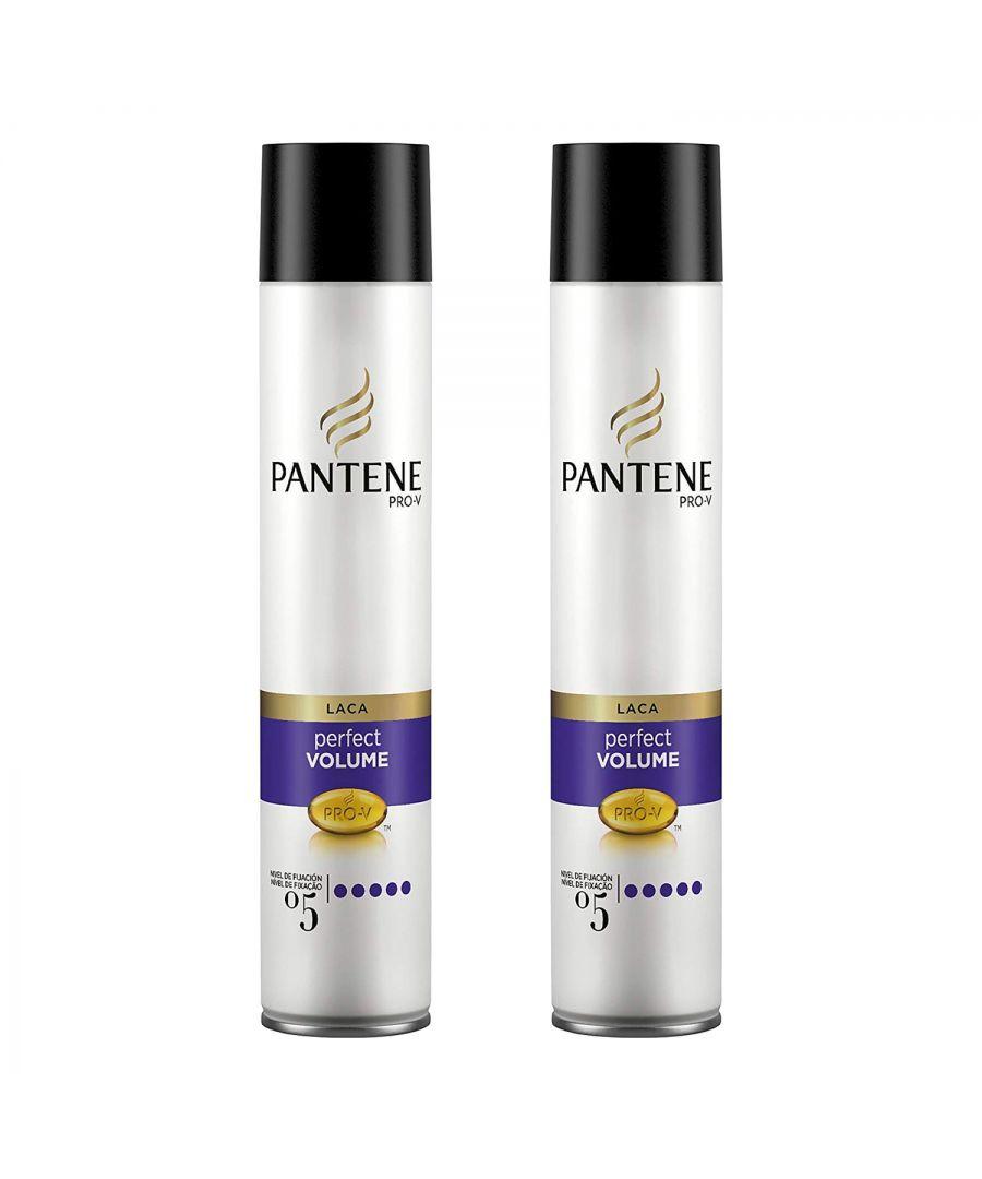 Image for Pantene Hair Spray Volume & Body 2 x 300ml
