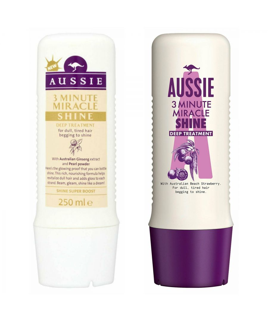 Image for Aussie 3 Minute Miracle Conditioner 250ml & Aussie 3 Minute Miracle Shine 250ml