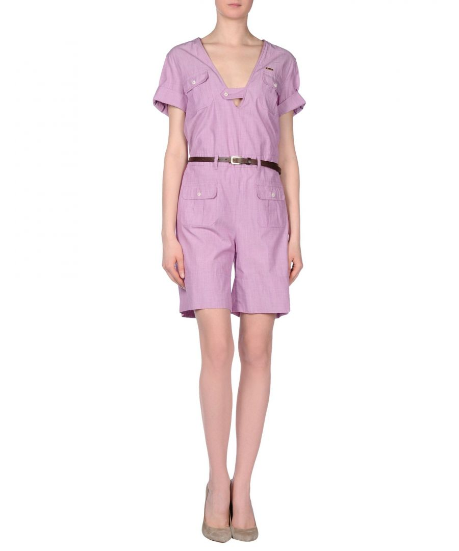 Image for Dsquared2 Light Purple Cotton Playsuit