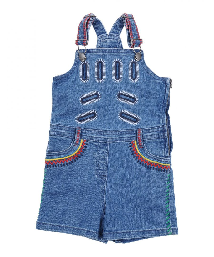 Image for DUNGAREES Girl Stella Mccartney Kids Blue Cotton