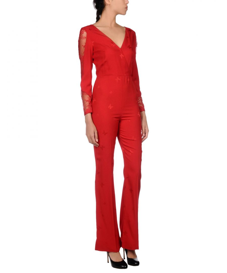 Image for Patrizia Pepe Sera Red Jumpsuit
