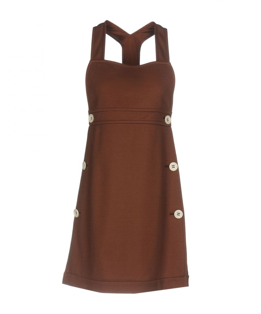 Image for M Missoni Cocoa Cotton Dress
